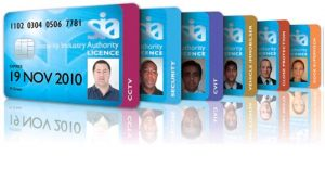 All of the SIA Licences